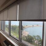 рулонные шторы интерьер фото