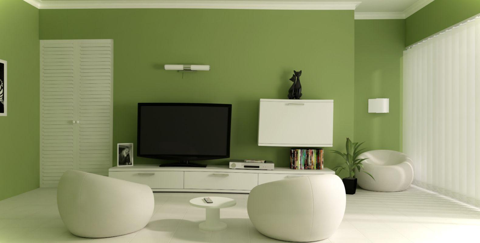 оттенков зеленого цвета