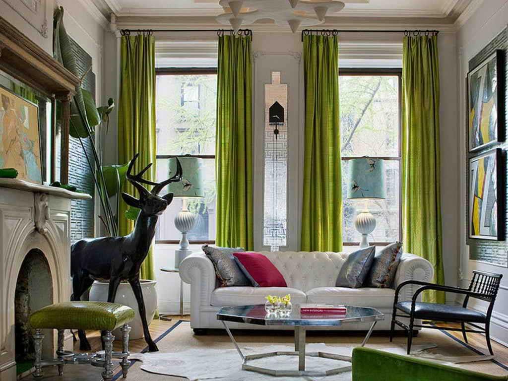 зеленые шторы продать