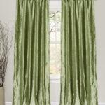 зеленые шторы блеск