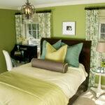 зеленые шторы принт