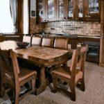 самодельный кухонный стол декор фото