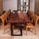 самодельный кухонный стол фото интерьер