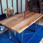 самодельный кухонный стол дизайн