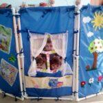 ширма для детского сада виды декора