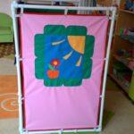 ширма для детского сада обзор идеи