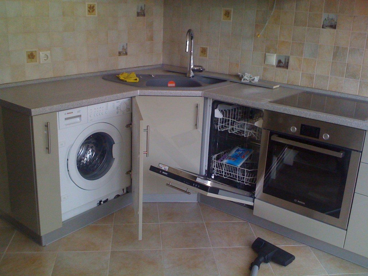 правила установки посудомойки
