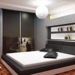 шкаф встроенный черный