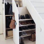 шкаф под лестницей выдвижной