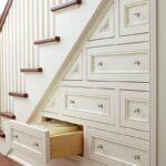 шк выдвижные ящикиаф под лестницей