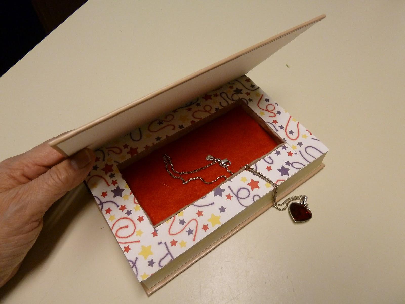шкатулка из книги в подарок