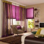 шторы из Италии фиолет