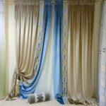 итальянские шторы золото