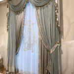 итальянские шторы серебро