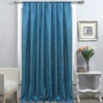 итальянские шторы синие