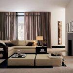 шторы хай-тек коричневые прозрачные