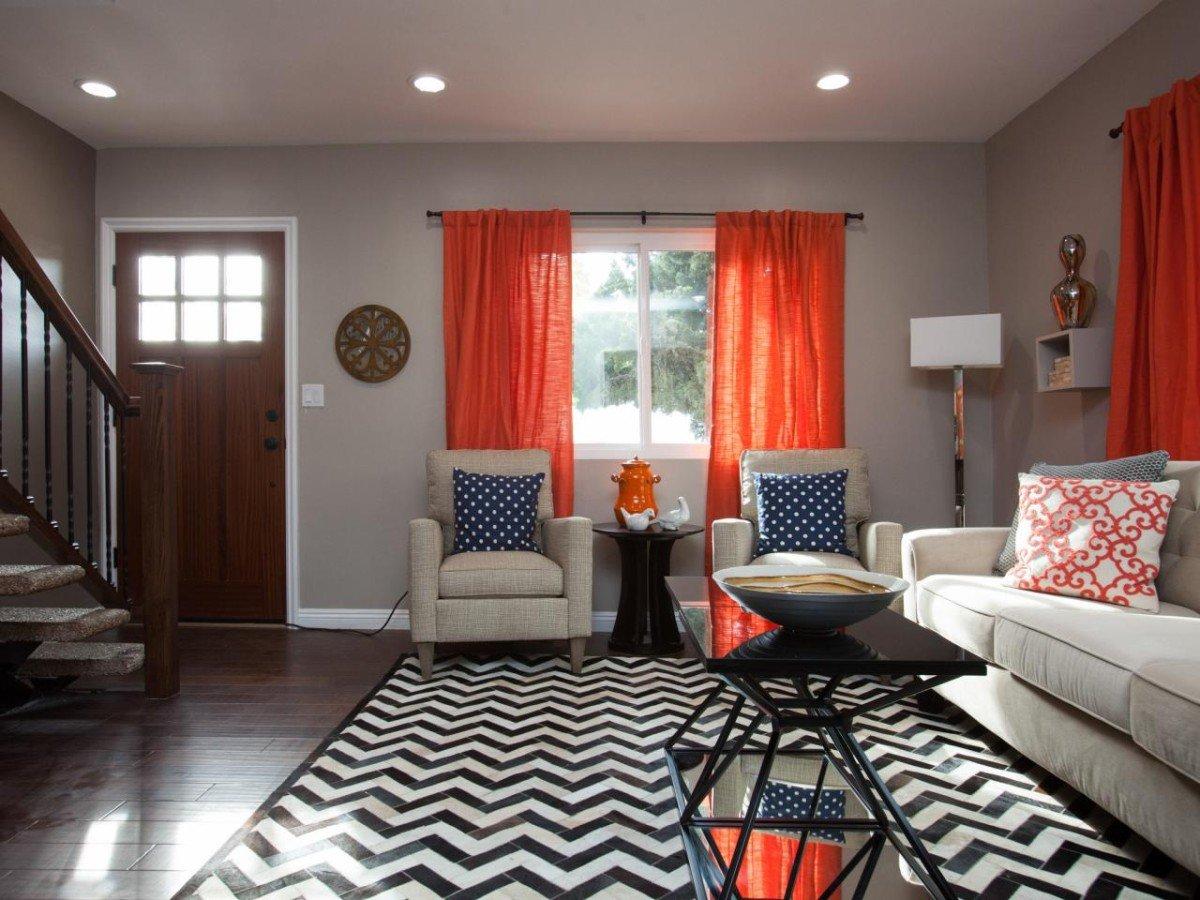 шторы к серым обоям фото декор