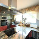 шторы на кухню декор фото