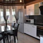 шторы на кухню интерьер