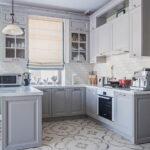 шторы на кухню фото интерьер