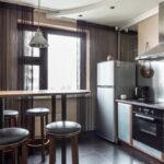 шторы на кухню фото интерьера