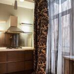 шторы на кухню оформление фото