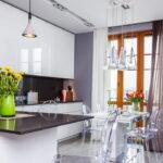 шторы на кухню оформление идеи
