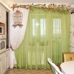 шторы на кухню идеи оформления