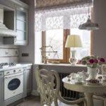 шторы на кухню варианты фото