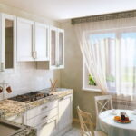 шторы на кухню виды фото