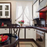 шторы на кухню фото видов