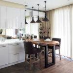 шторы на кухню виды идеи