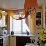 шторы на кухню идеи виды