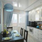 шторы на кухню виды декора