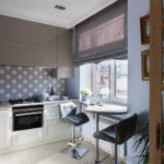 шторы на кухню фото идеи