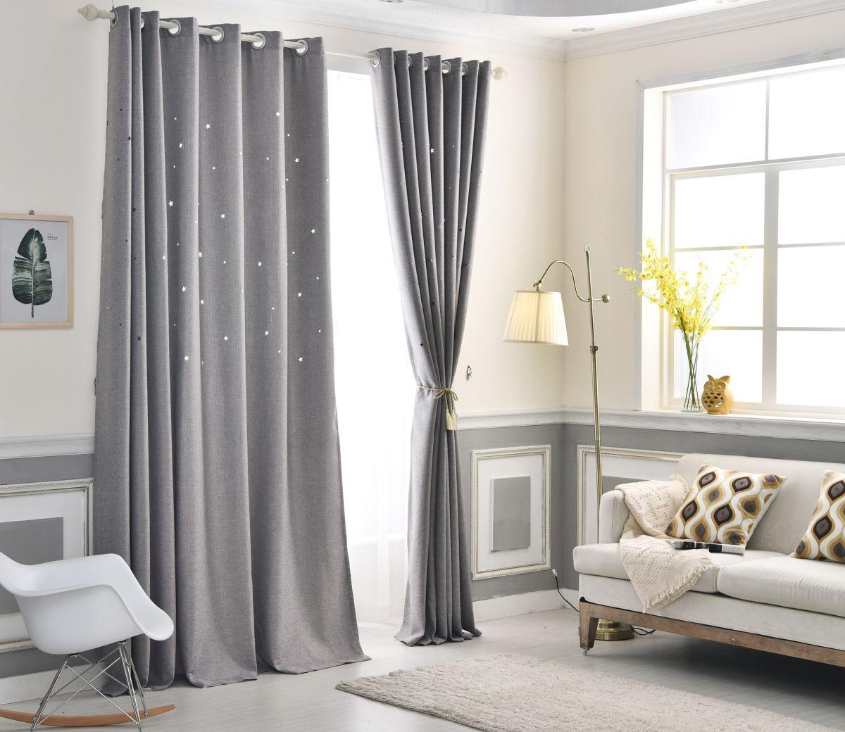 гардины и шторы для зала фото фриман