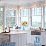 шторы в кухню-гостиную короткие