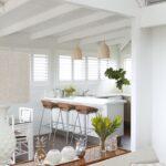 шторы в кухню-гостиную римские