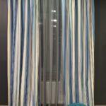 шторы в узкую вертикальную полоску