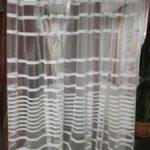 шторы в полоску прозрачные