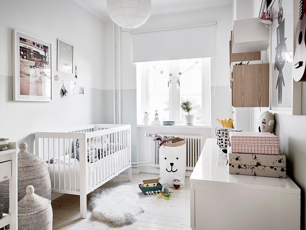 скандинавские шторы в детскую