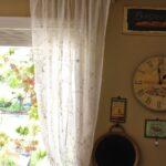 шторы из вуали лофт