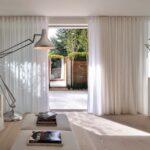 шторы лофт белые