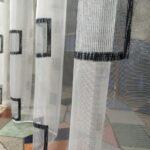 шторы из кисеи лофт