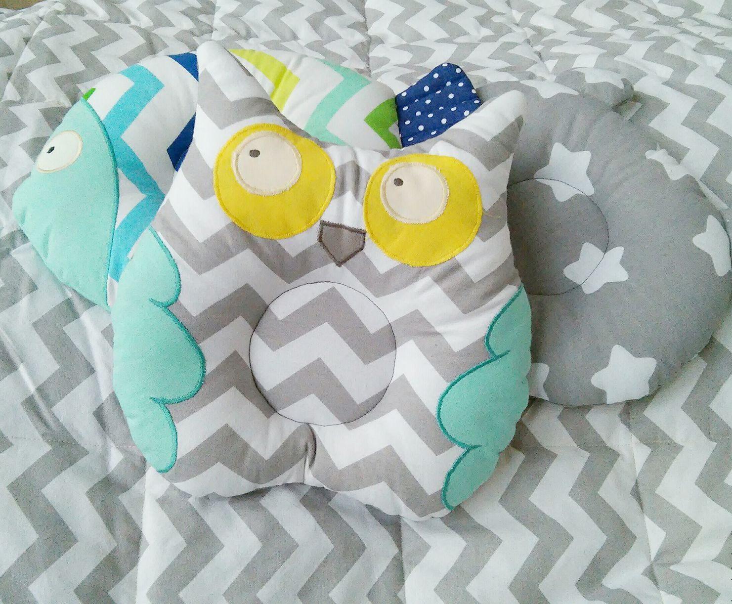 подушка сова для ребенка