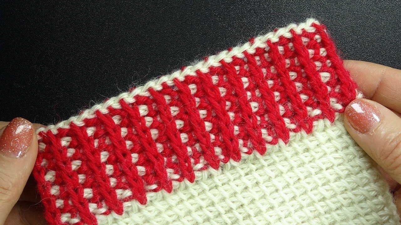 плотность туниссского вязания
