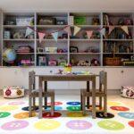 стеллаж в детской комнате