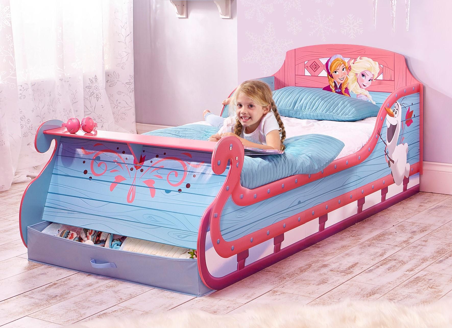 возрастные размеры для детских кроватей