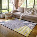 вязаный коврик декор фото