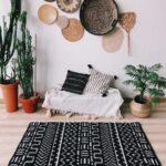вязаный коврик дизайн